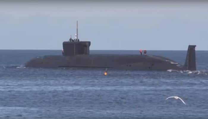 Russia flexes muscle, test-fires four Bulava nuclear ICBMs from submarine