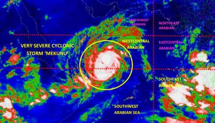 Very severe cyclonic storm 'Mekunu' may move northwards from Southwest Arabian Sea in next 24 hours