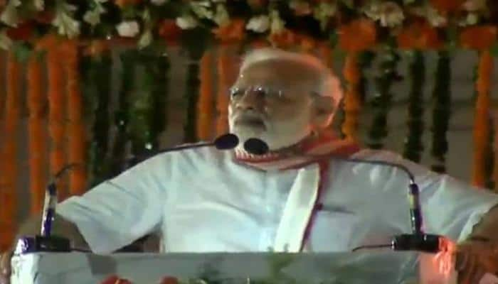 PM Narendra Modi blasts opposition unity, says corrupt people are uniting to save themselves