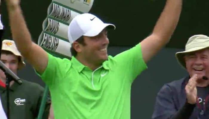 Francesco Molinari wins PGA Championship as Rory McIlroy fades