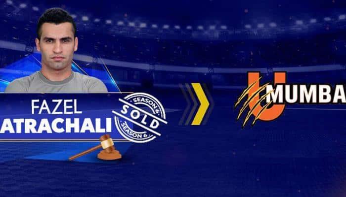 Iran's Fazel Atrachali becomes first-ever Pro Kabaddi League player to enter 1 crore club