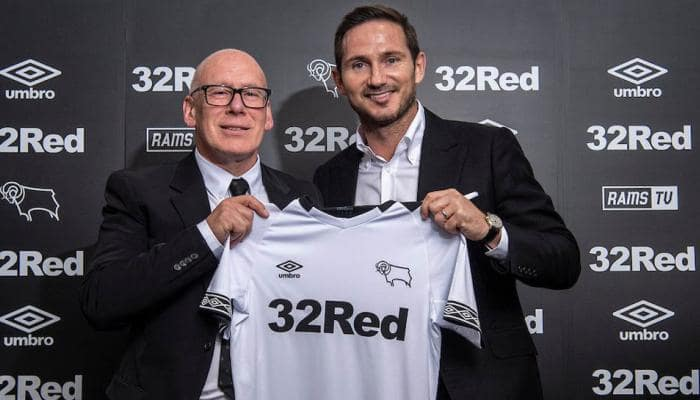 Frank Lampard appointed Derby County manager on three-year deal