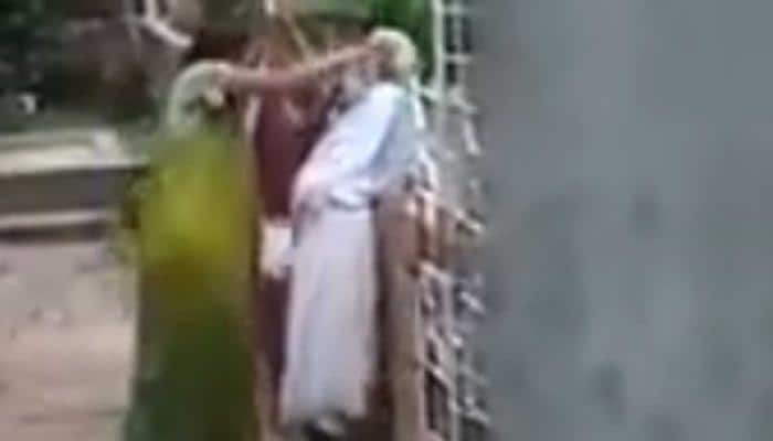 Shocking: Woman beats up elderly mother-in-law for plucking flowers without permission  in kolkata