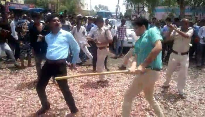 Farmer protest in Jaipur turns violent, police resort to lathi charge