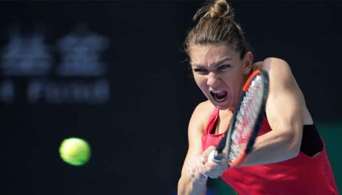 Simona Halep defeats Garbine Muguruza, to play in third final