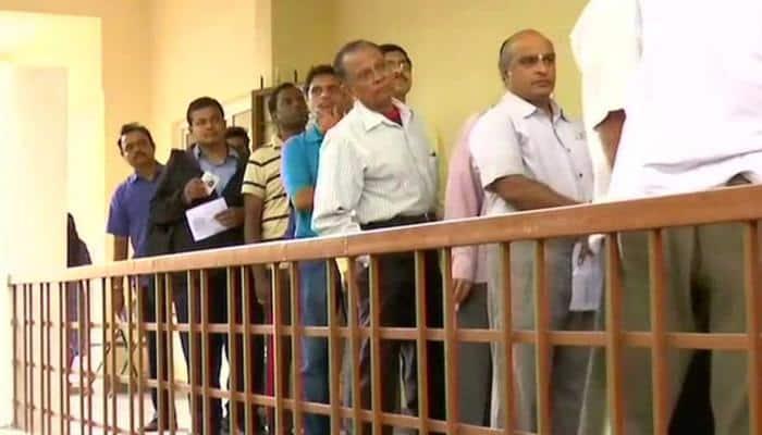 Voting underway in Karnataka's Jayanagar constituency