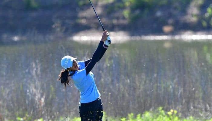 Golf: Aditi Ashok plays steady, lies 34th on LPGA Shoprite Classic