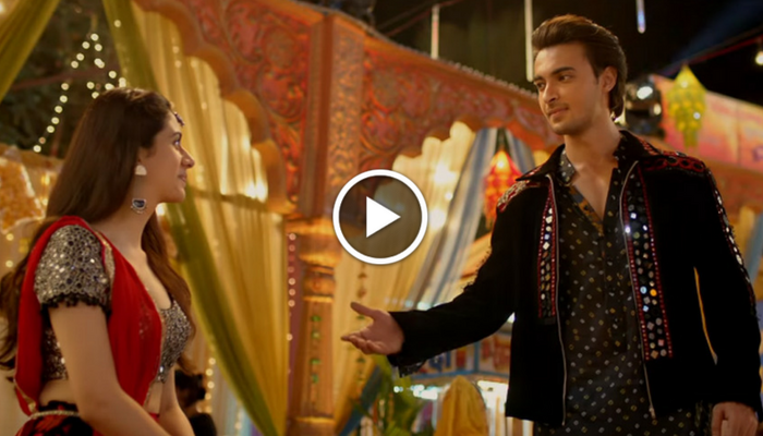 Loveratri teaser: Salman Khan presents Aayush Sharma, Warina Hussain in vibrant love story