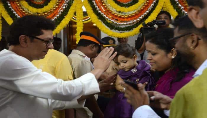 Raj Thackeray cuts EVM-like cake on his 50th birthday, Mumbaikars get cheap petrol