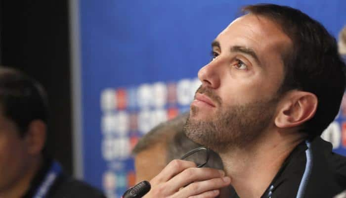 FIFA World Cup 2018: Diego Godin saw no ill intent from Sergio Ramos in Mohamed Salah injury