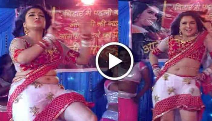 Bhojpuri dancing queen Amrapali Dubey's belly dance song is latest sensation on Internet — Watch