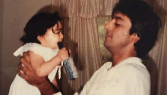 Sanjay Dutt's daughter Trishala Dutt shares adorable throwback childhood picture