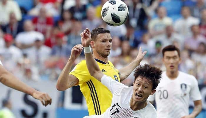 FIFA World Cup 2018: VAR penalty gives Sweden 1-0 win over South Korea in Group F match