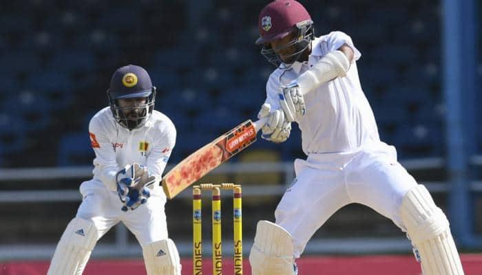 Dinesh Chandimal sweats as Sri Lanka and West Indies draw 2nd Test