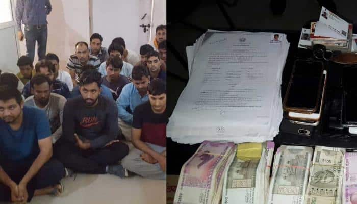 UP constable recruitment exam: 22 people arrested for cheating; mobile phones, cash seized