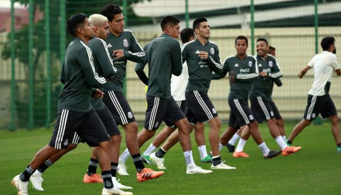 FIFA World Cup 2018: Mexico holds training in preparation for South Korea clash