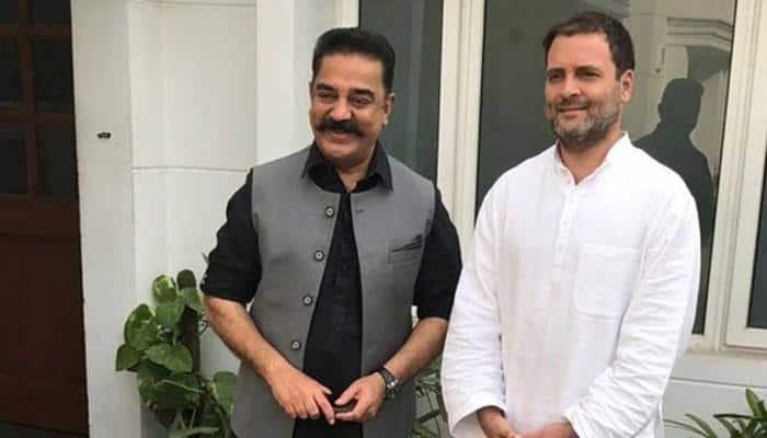 Kamal Haasan meets Rahul Gandhi, calls it 'courtesy meeting'