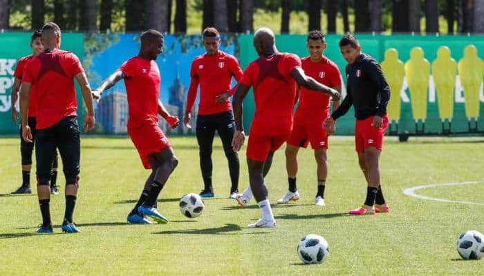 FIFA World Cup 2018: Peru holds final training before crucial game against France