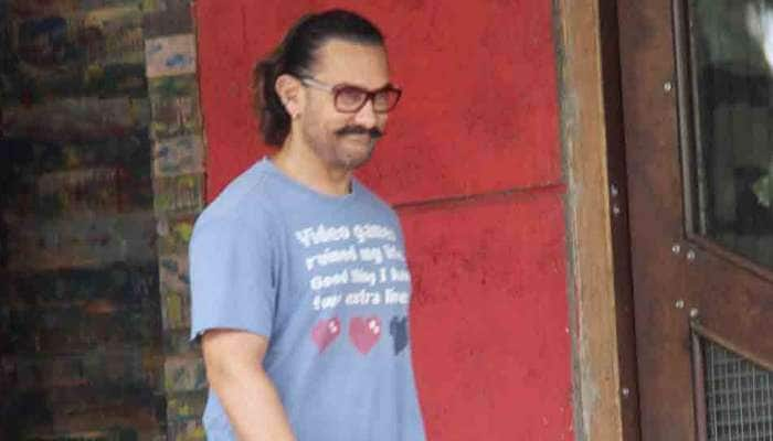 Aamir Khan takes a break from shooting, pampers himself at a spa — Pics inside