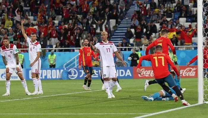 FIFA World Cup 2018: Sergio Ramos calls for Spanish reflection after Morocco mayhem