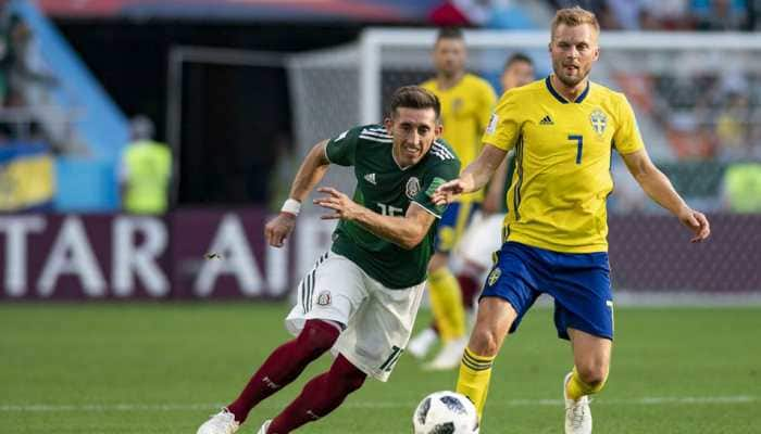 FIFA World Cup 2018: Sweden vs Mexico - As it happened