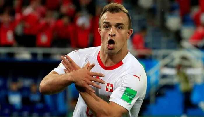 Ethnic kin of Swiss scorers Granit Xhaka, Xherdan Shaqiri rush to pay their World Cup fines