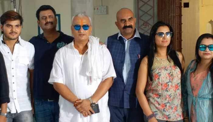 Bhojpuri superstar Arvind Akela Kallu's smile captivates debutante Sonalika Prasad