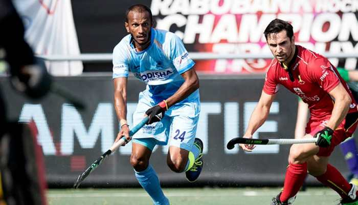 b1d79daf624 Belgium hold India to 1-1 draw in hockey Champions Trophy