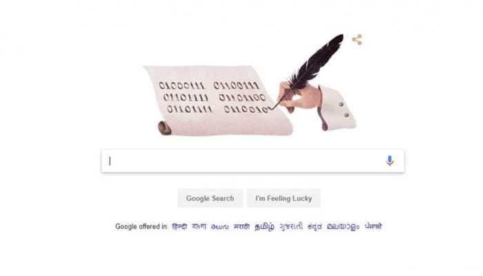 Google doodle celebrates 372nd birth anniversary of German philosopher Gottfried Wilhelm Leibniz