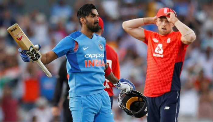 Powered by KL Rahul's ton, India crush England by 8 wickets in first T20