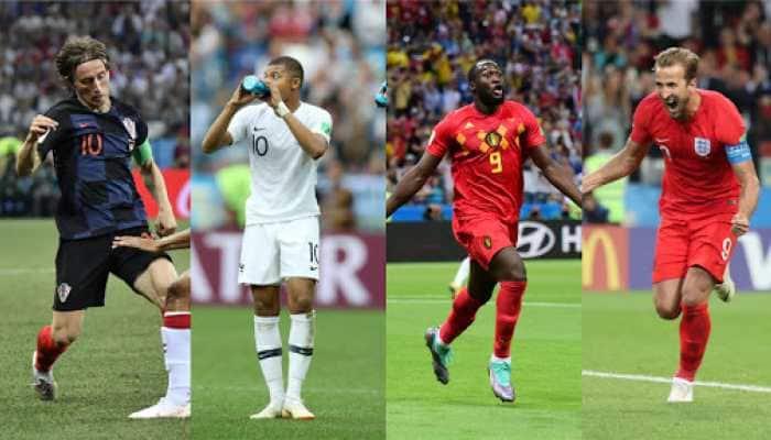 FIFA World Cup 2018 semifinal schedule: France vs Belgium; England vs Croatia