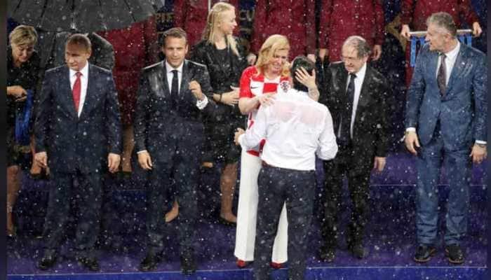 Croatian president Kolinda Grabar Kitarovic win admirers at FIFA World Cup 2018 final