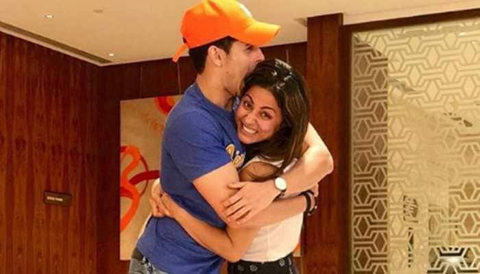 Hina Khan and Priyank Sharma's latest video is too cute to miss! Watch