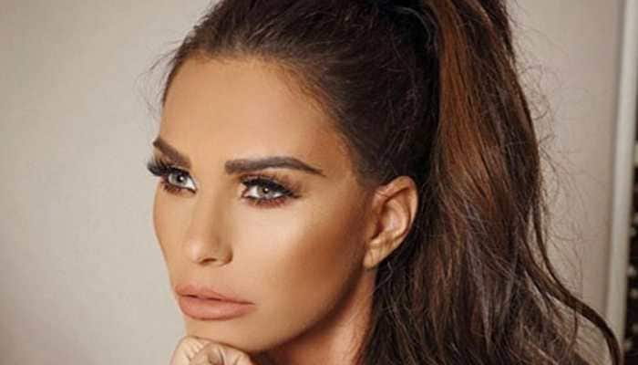 Katie Price reports herself to police