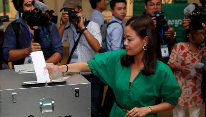 Voting underway in Cambodia elections; PM Hun Sen expected to win