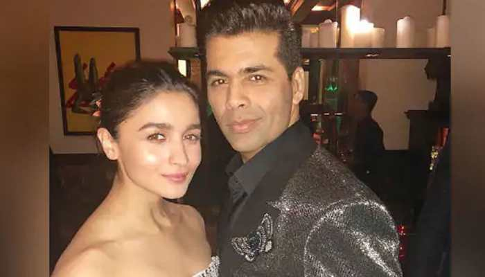 Alia Bhatt sips coffee with Karan Johar—Pic proof