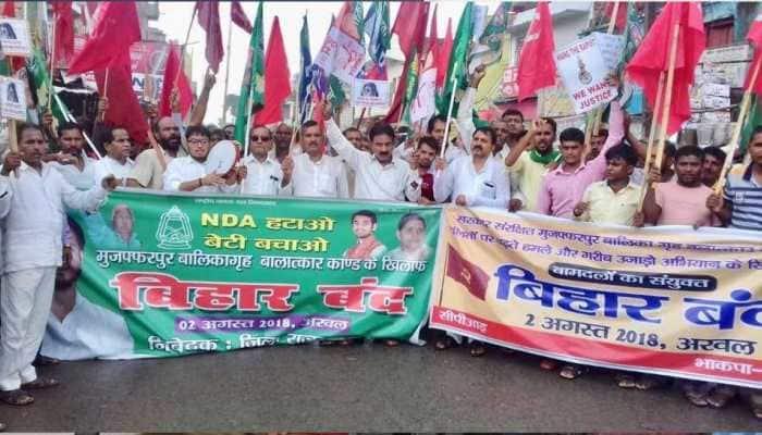 Left-sponsored bandh evokes mixed response in Bihar