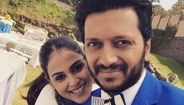 Genelia D'Souza shares 'first ever painting' by hubby Riteish Deshmukh-See pic