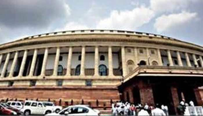 Parliament adjourned after paying homage to departed DMK chief M Karunanidhi