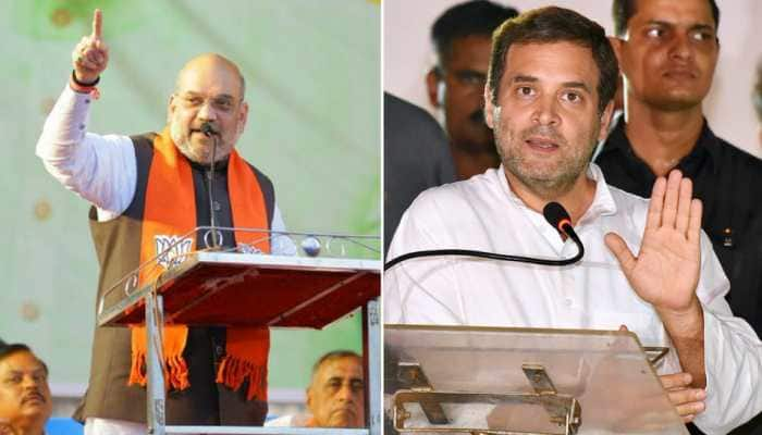When you're free from winking, disrupting Parliament, read facts: Amit Shah to Rahul Gandhi