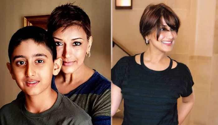Sonali Bendre shares a heartwarming video on son Ranveer's 13th birthday—Watch