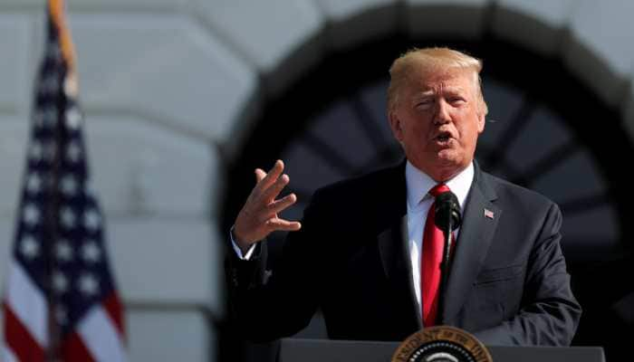 On Charlottesville riots anniversary, Donald Trump says he condemns all kinds of racism, violence