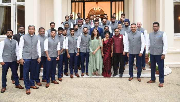 Backlash over BCCI picture: Anushka Sharma says she doesn't react to trolls