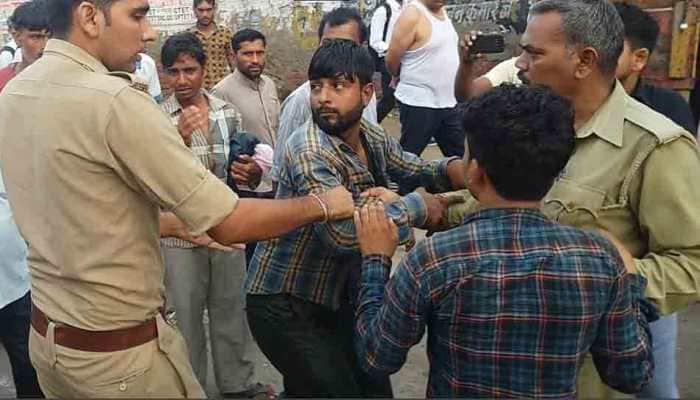 Gau Rakshaks thrash two men with belts, sticks for transporting cows in Uttar Pradesh's Shamli