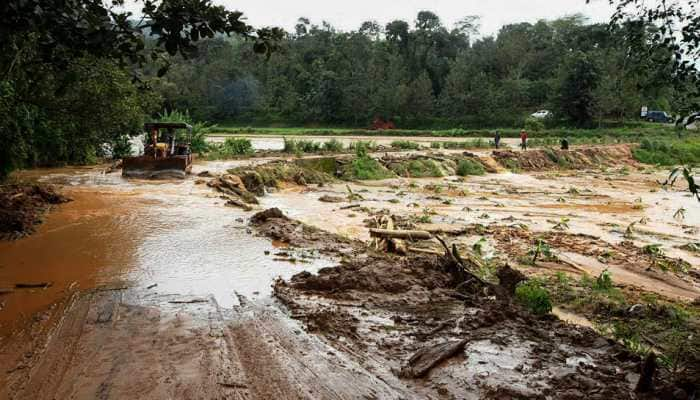 Floods recede in Karnataka's Kodagu, relief work in full swing