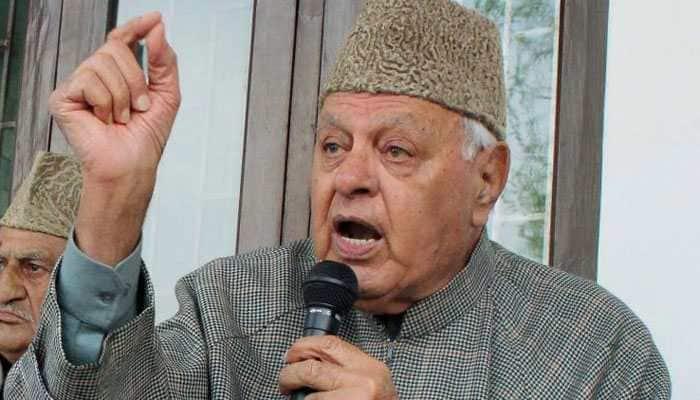 Farooq Abdullah heckled during Eid prayers in Srinagar for saying 'Bharat mata ki jai'