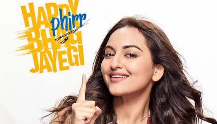 'Happy Phirr Bhag Jayegi' movie review: A genial comedy