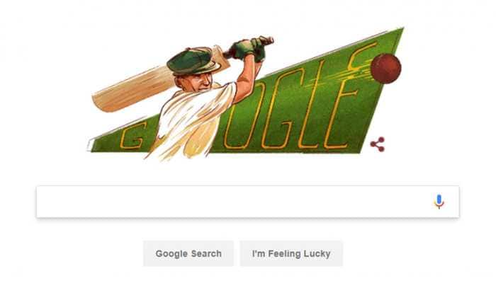 Google Doodle honors Don Bradman on 110th birth anniversary