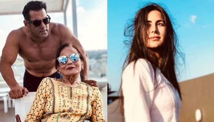 When 'bride' Katrina Kaif hugged Salman Khan's mother Salma Khan - See pic