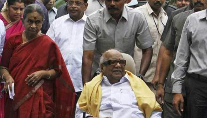 Dayalu Ammal, wife of late DMK patriarch M Karunanidhi, hospitalised in Chennai